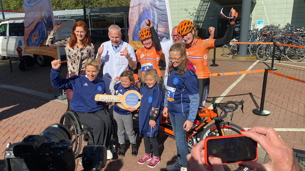 Esther Vergeer opent eerste kinderen-sportpoli van Nederland