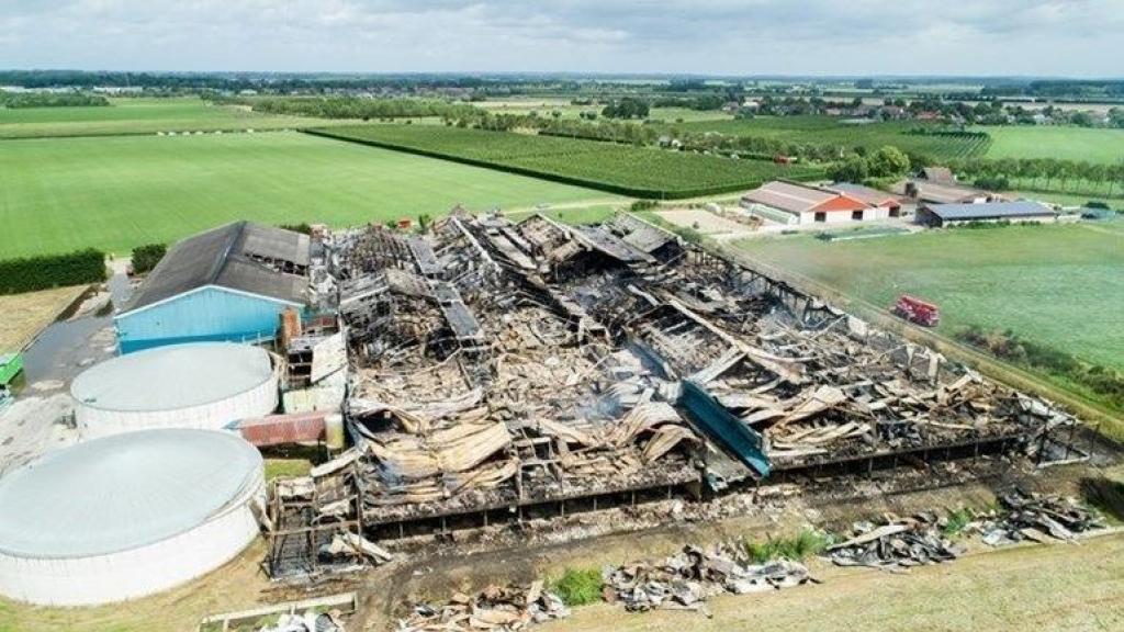 Bouwplan in de knel: huizen liggen te dicht bij afgebrande Knorhof