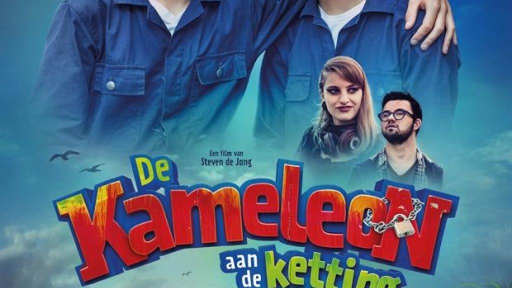 Acteurs van de film 'De Kameleon aan de Ketting' in Pathé