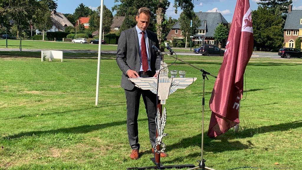Aftrap Airborne-maand is mooie start voor Ronnie Weijers