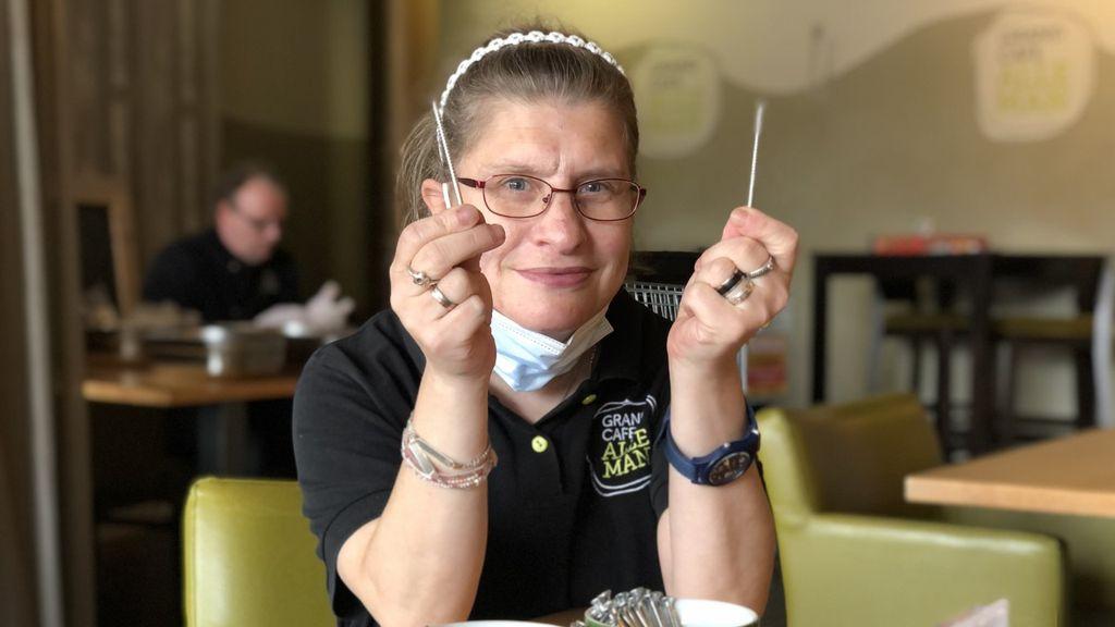 Marjolein (47) mag bijna weer knuffelen: 'Corona is stom en raar'