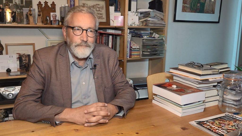 Voormalig hoogleraar theologie Peter Nissen. Foto: Omroep Gelderland