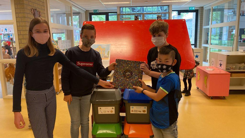 Afvalscheiding op basisscholen in gemeente Berg en Dal: Wethouder Verheul trapte af