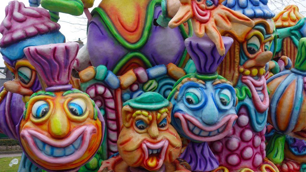 Carnaval in Berg en Dal in 2021 in de zomer