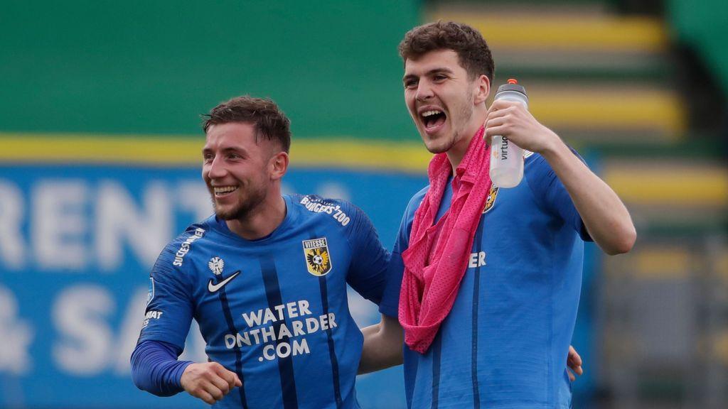 Vitesse wint niet bij Fortuna Sittard, maar gaat wel Europa in