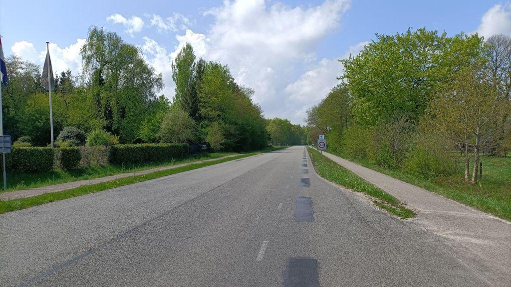 Eind mei begint de gemeente met werkzaamheden Harderwijkerweg
