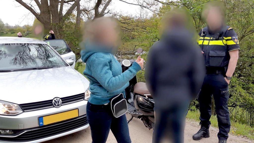 Behulpzame omstander blijkt brutale scooterdief in Veenendaal