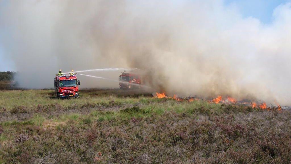 SGP wil lokale brandweer bij natuurbrandpreventie betrekken