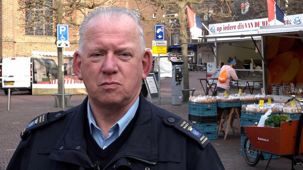 De markt in Wageningen staat halfvol: 'Dit is ontzettend sneu'