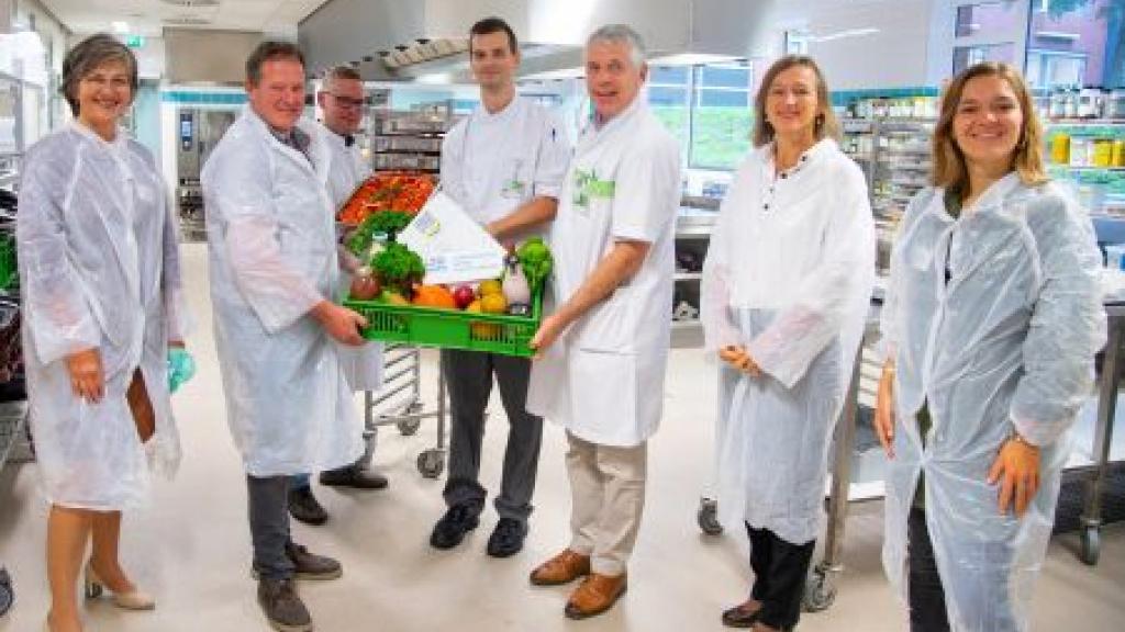Gezond voedsel in het ziekenhuis Foto: LTO Noord