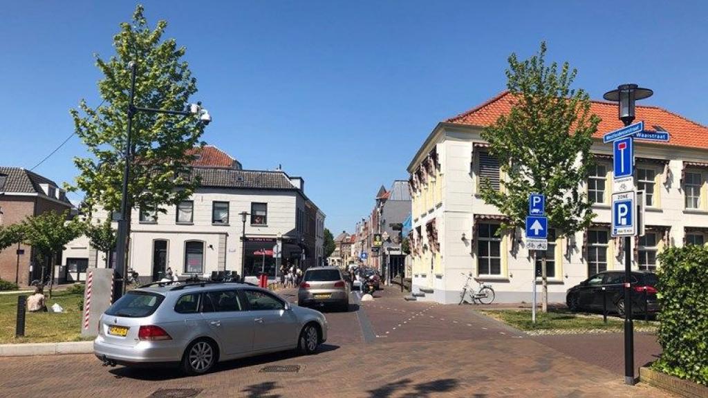 De entree van de Westluidensestraat in Tiel Foto: Omroep Gelderland