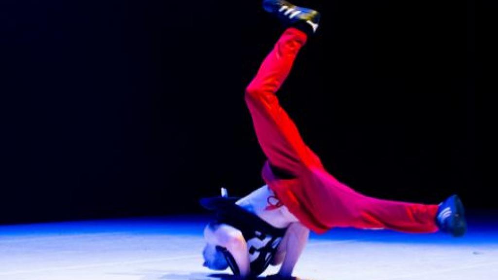 Maandag breakdance voor kids in Cultuur on tour