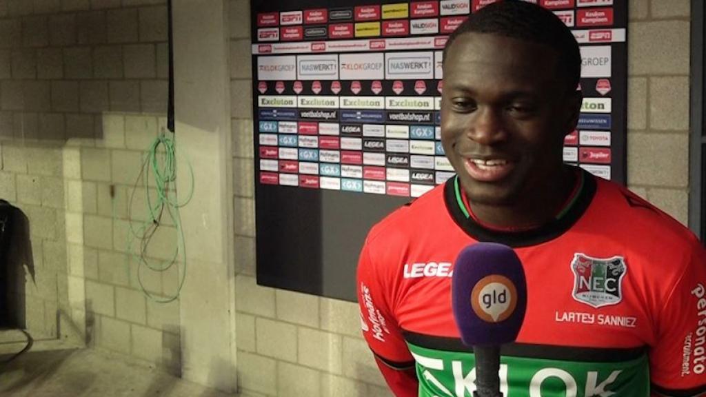 Afgeserveerde Sanniez nu in finale play-offs met NEC