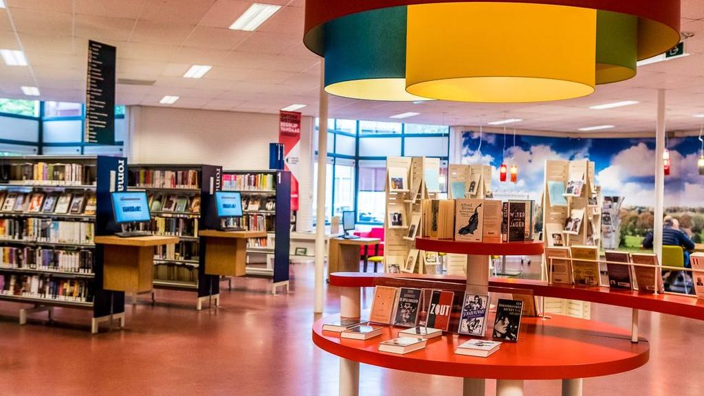 Bibliotheek Groesbeek mogelijk naar het gemeentehuis