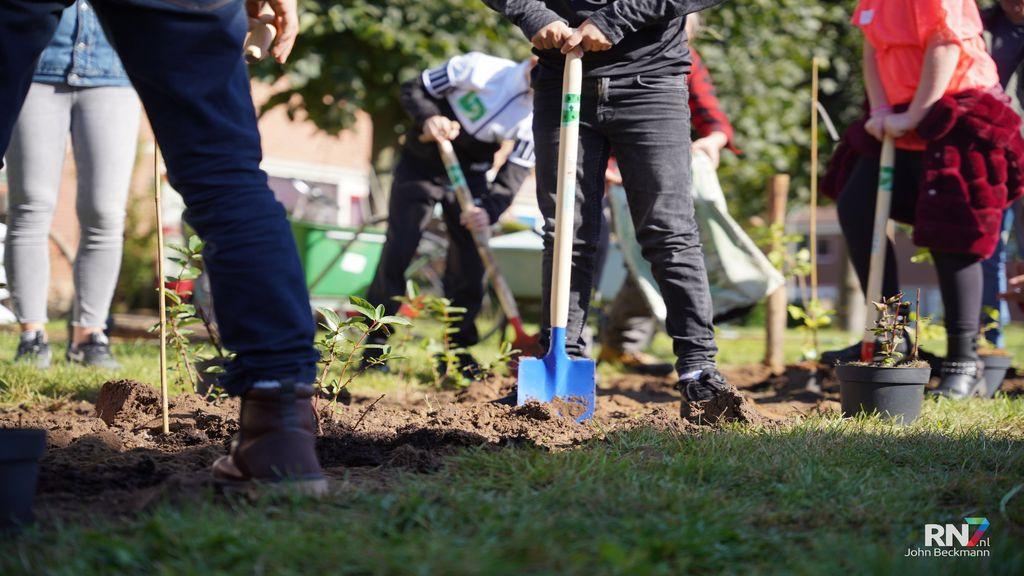 Bessen en bloemen plukken op eerste 'plukroute' van Nijmegen in de Meijhorst