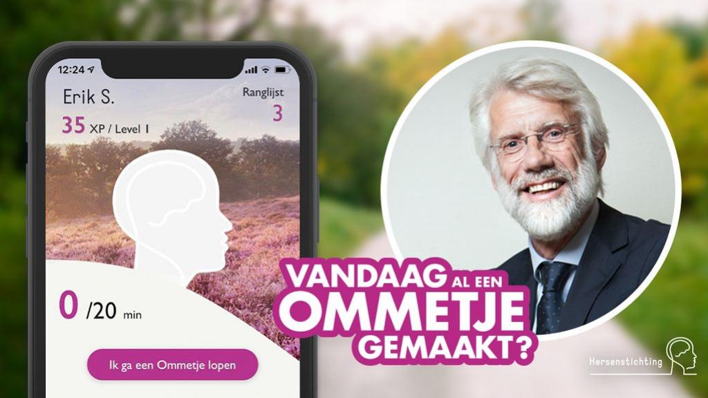 Digitale medailles verdienen met wandelen in de 'Ommetje app'