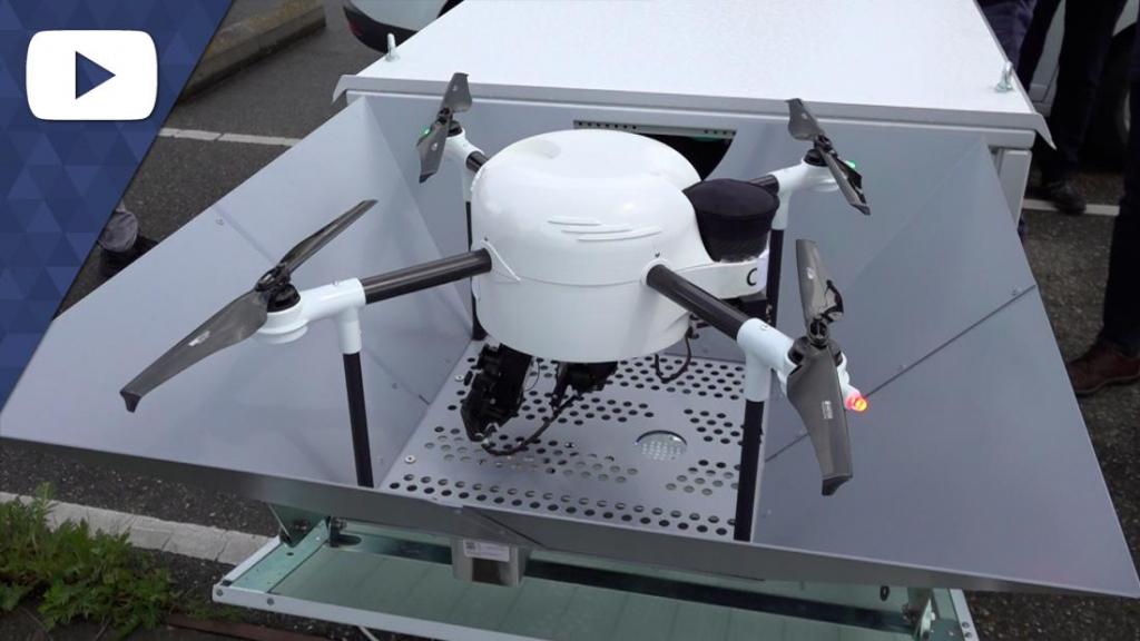 Drones houden een oogje in het zeil boven de Waal