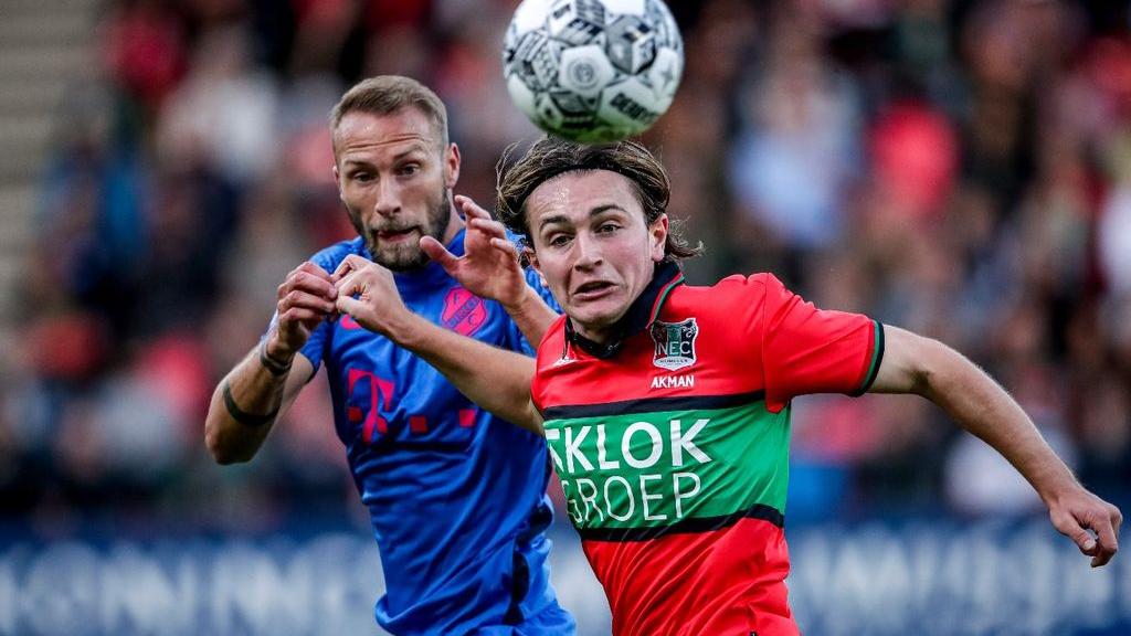 Aanvallend onmachtig NEC flink onderuit tegen Utrecht