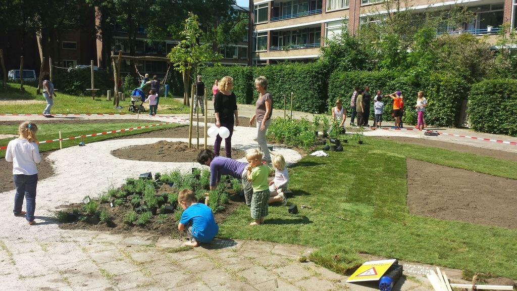 Groene activiteiten tijdens de Plant4daagse