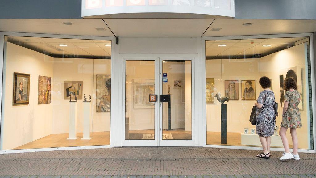 Kunstlijn Lunteren exposeert in pop-up galerie met Werk in de Winkel
