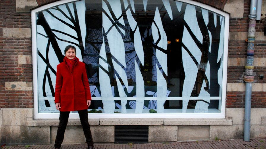 Langzaam groeiende kunstroute in binnenstad Wageningen
