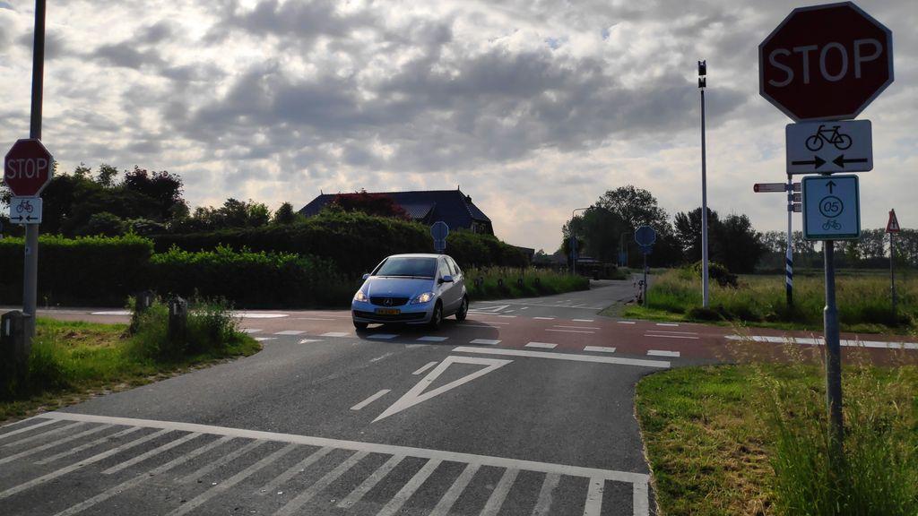 'Onbegrijpelijk en schandalig', tijdelijke drempels bij RijnWaalpad gestolen