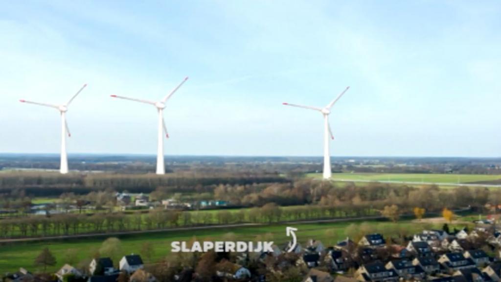 Het voornemen om in Renswoude windmolens te bouwen houdt de gemoederen bezig