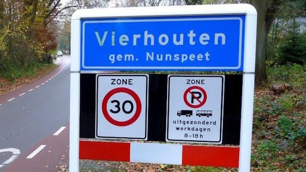 Gemeente Nunspeet werkt ideeën van inwoners en de Dorpsvereniging Vierhouten over verkeersveiligheid uit
