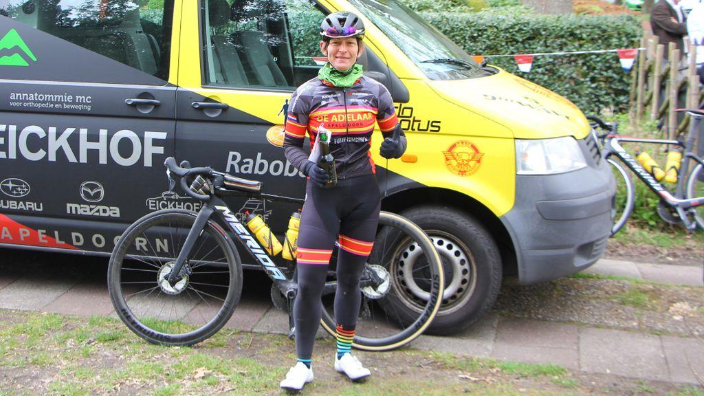 Cornélie Smorenburg fietst 669 kilometer voor het goede doel