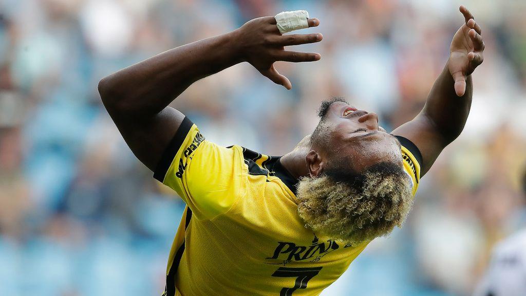 De teleurstelling bij Vitesse is groot na gelijkspel tegen het Ierse Dundalk