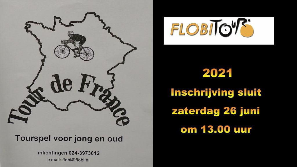 Het startschot voor de Tour de France is ook de start van de Groesbeekse Flobitour