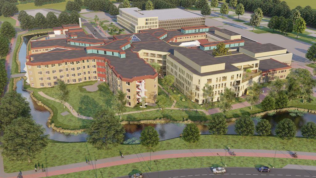 Nieuw bouwdeel St Jansdal Harderwijk
