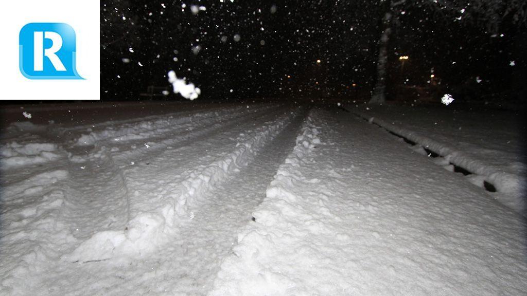 'Levensgevaarlijk': Posbank afgesloten vanwege sneeuw en takken