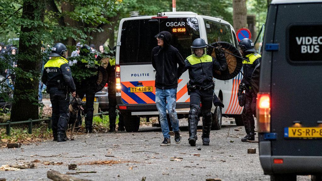 Zeven verdachten van rellen voorgeleid bij rechter-commissaris