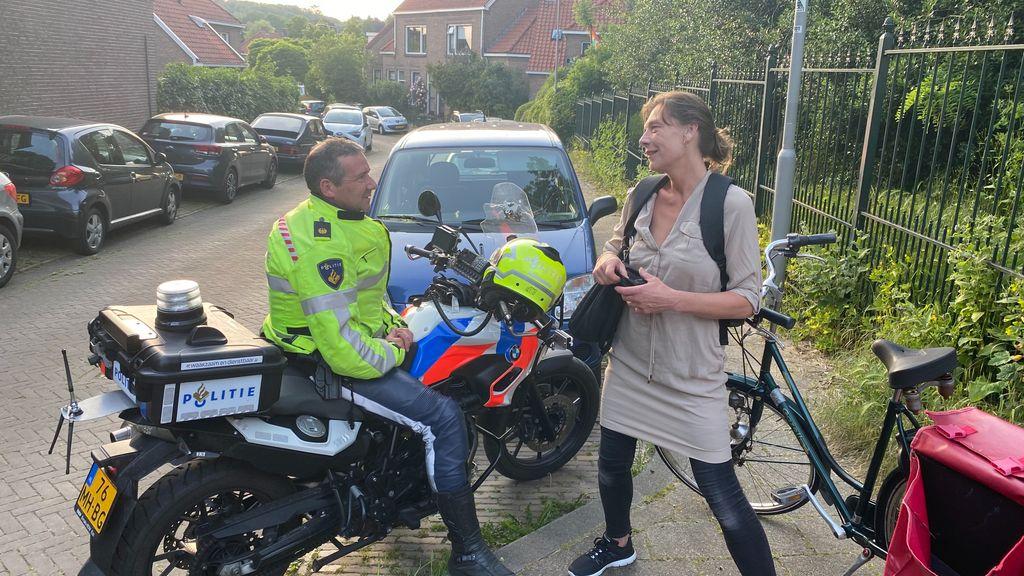 Grote politieactie in Klarendal goed voor 'heerlijke gesprekken'