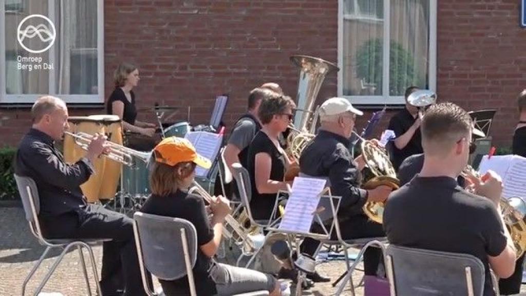 Muziekvereniging D.E.S. uit Leuth Foto: Omroep B&D