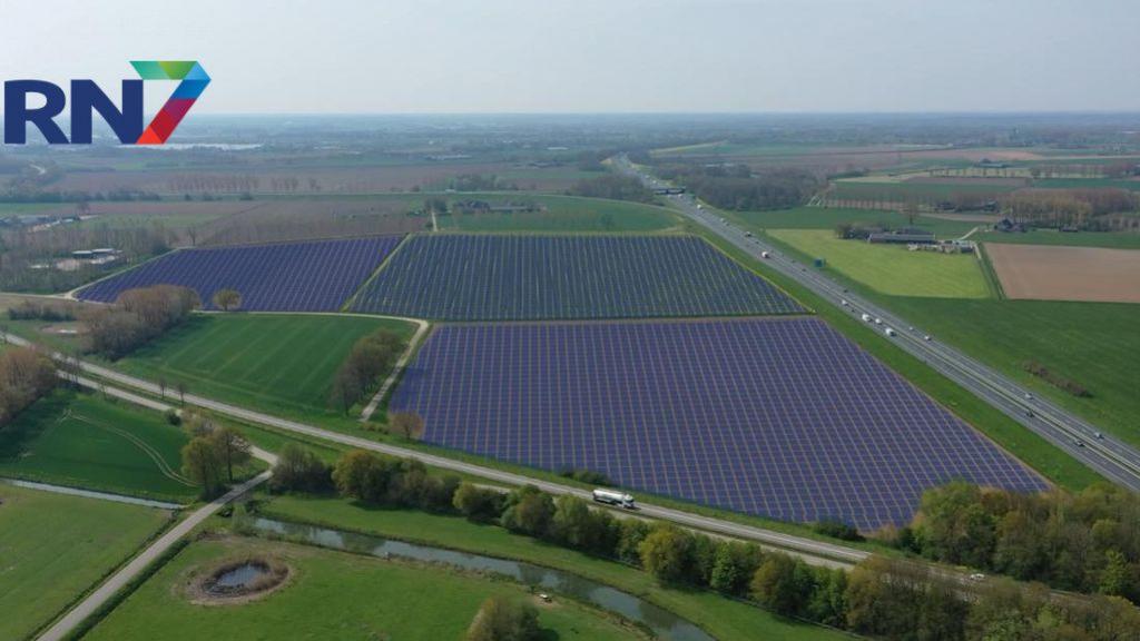 Akker wordt omgeploegd tot zonnepark met veel natuur