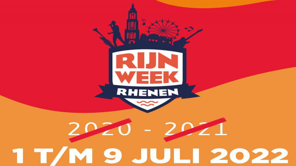 Festival Rijnweek in Rhenen gaat ook dit jaar niet door
