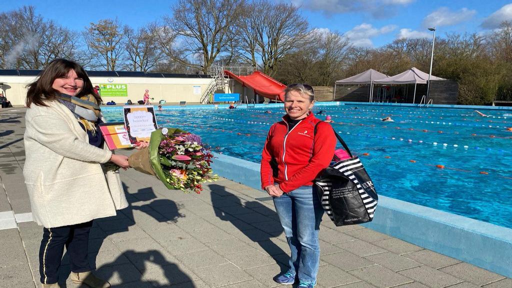 Al 5000 banenzwemmers in Zwembad de Vrije Slag