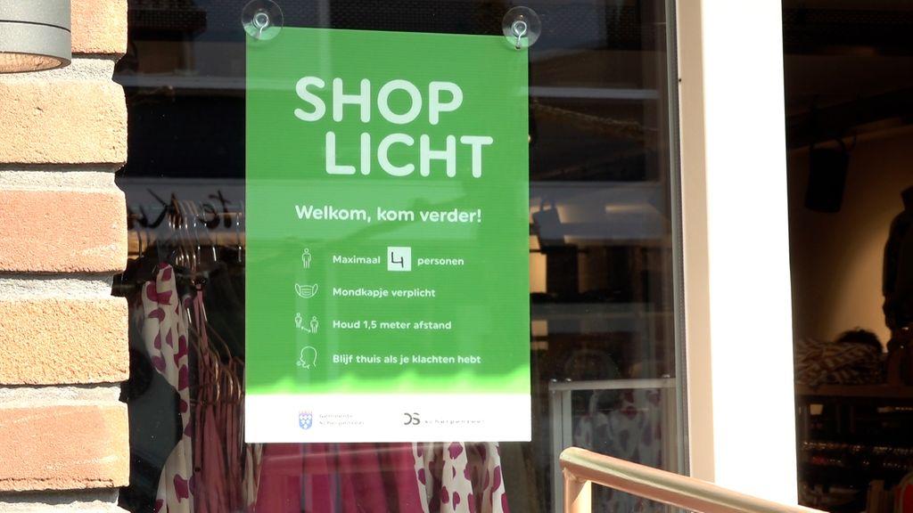 Shoplicht geeft ondernemers vast wat lucht