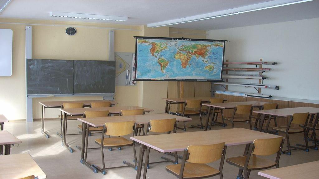 Klaslokaal ter illustratie. Foto: Wikipedia