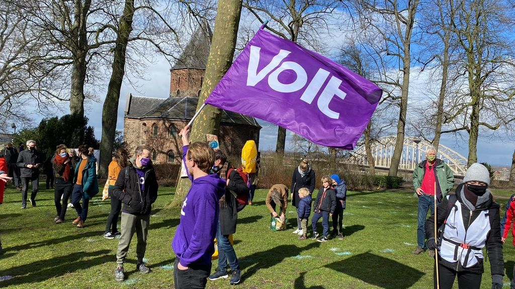 Volt wil ook in Arnhem en Nijmegen politieke arena in