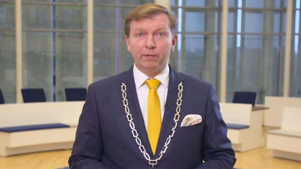 Burgemeester Gert-Jan Kats wenst u een gezond en gelukkig 2021