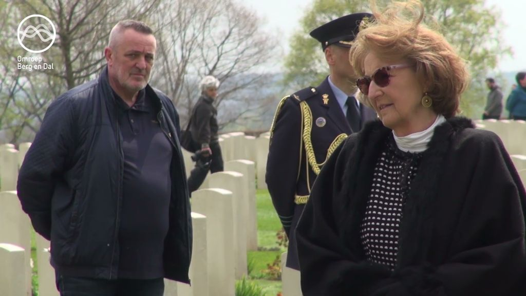 Prinses Margriet op Canadese Begraafplaats Foto: Omroep Berg en Dal