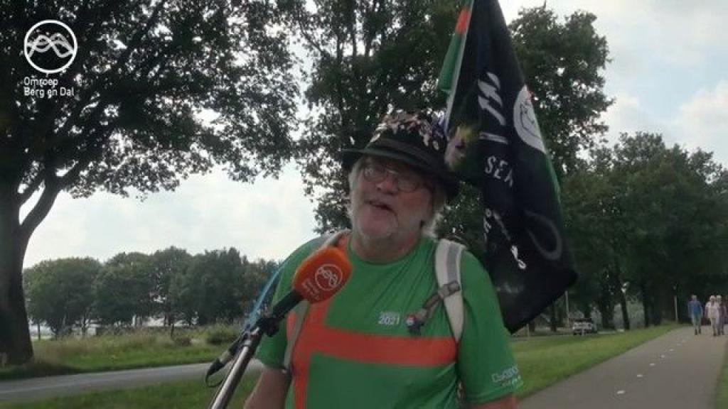 Geert Borremans uit Leuth liep zijn eigen vierdaagse