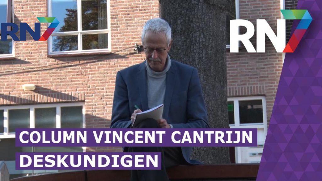 Column Vincent Cantrijn: Deskundigen