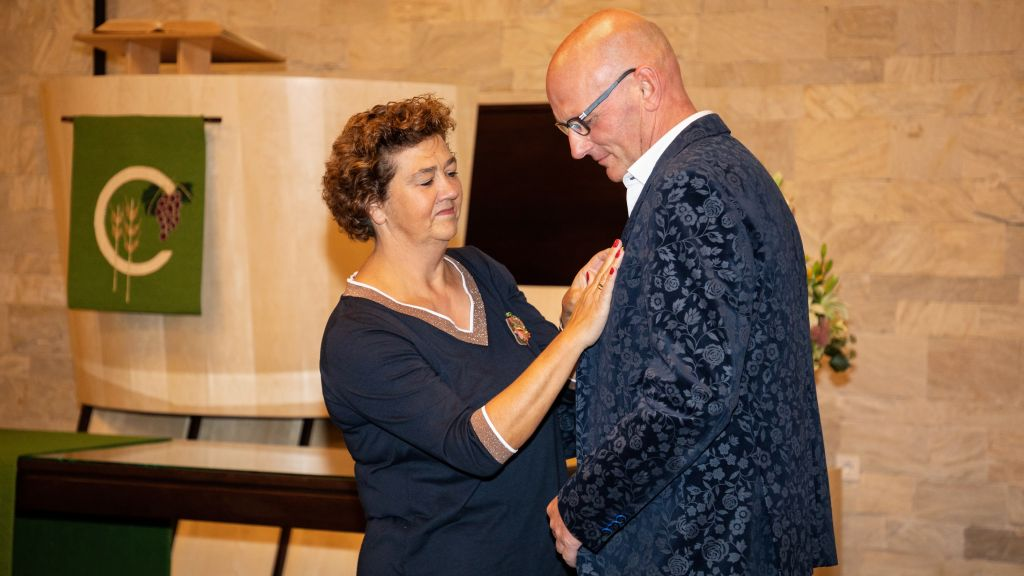 Willem Veldkamp Koninklijk onderscheiden