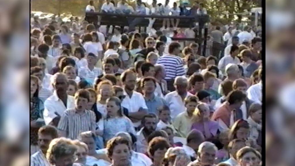Bevrijdingsfeesten op de Stakenberg trokken altijd duizenden bezoekers
