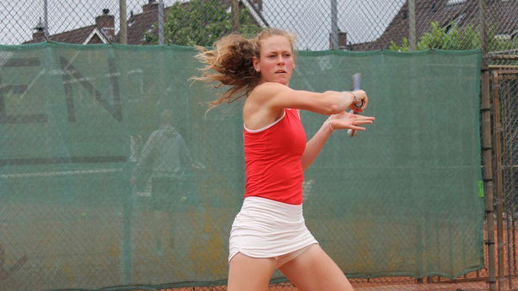 Stephanie Visscher haalt kwartfinale van dubbelspel in Egypte