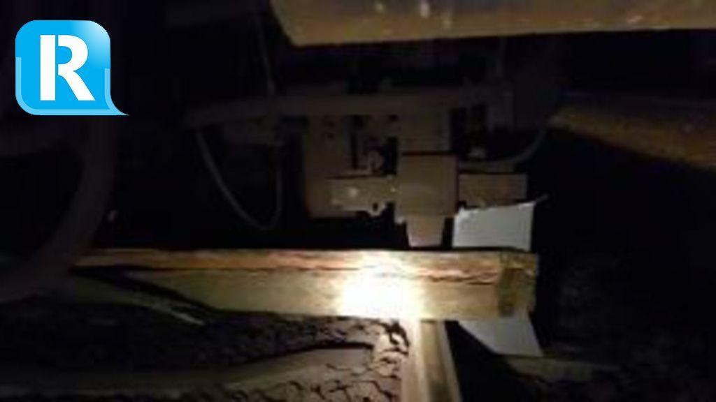 'Een balk van drie meter'; politie onderzoekt spullen op het spoor